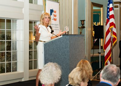 Dr. Jill Biden Speaking at the CCDWLI Fall Gala 2017