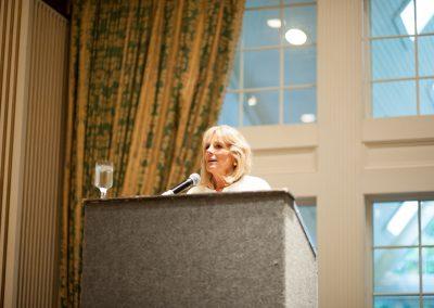Dr. Jill Biden at the CCDWLI Fall Gala 2017